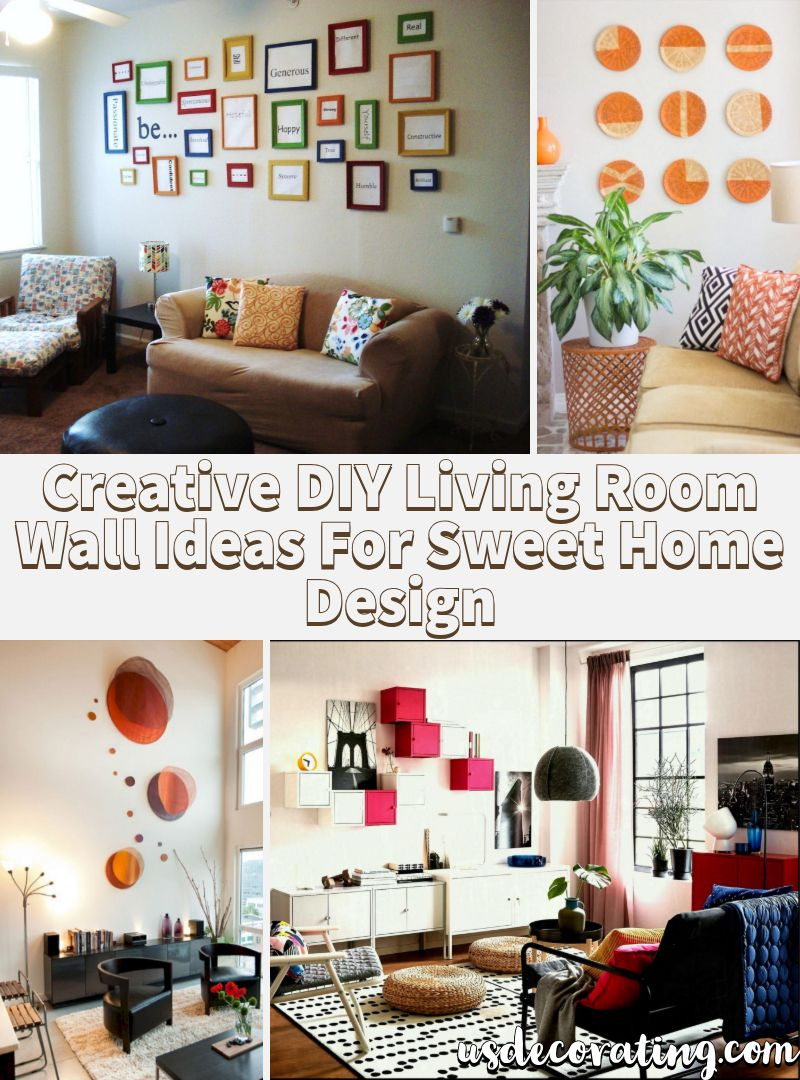 22 Creative Diy Living Room Wall Ideas For Sweet Home Design