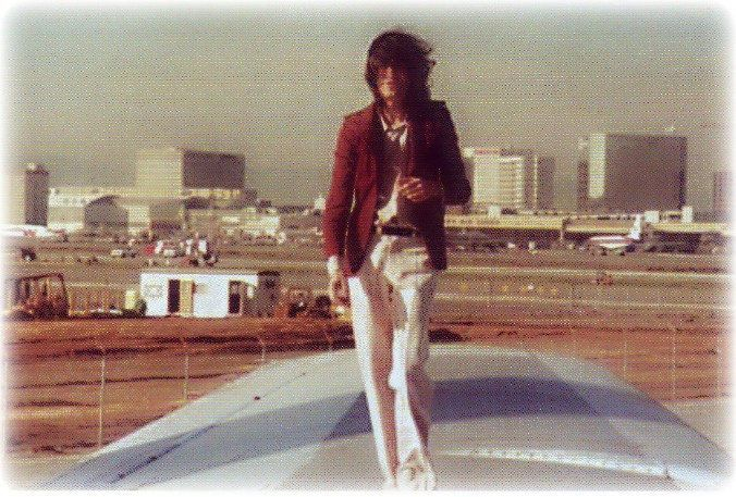 Image result for jimmy page on plane
