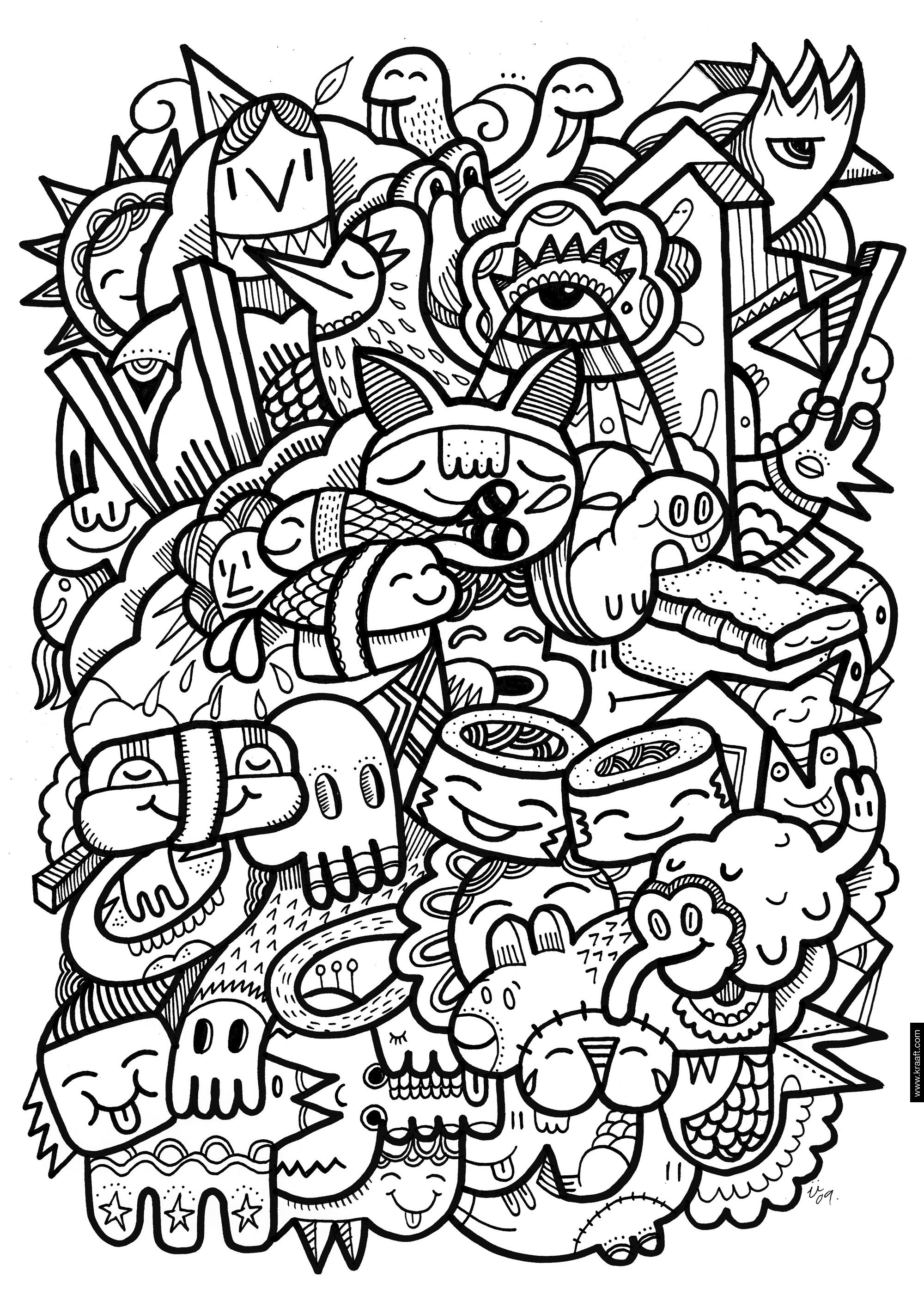 Carlton Hibbert S Pattern Blog Coloring Pages Coloring Books Frog Coloring Pages
