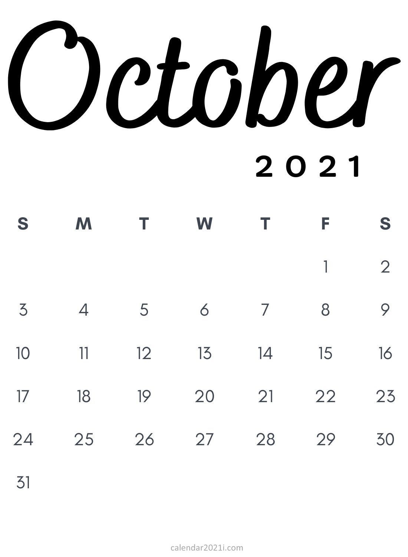 Photos of October, 2021 Calendar