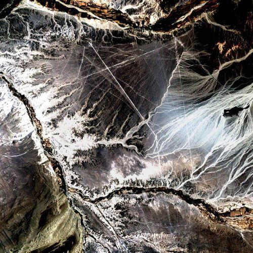 """Nazca Lines, Peru (by NASA Goddard Space Flight Center)  """""""