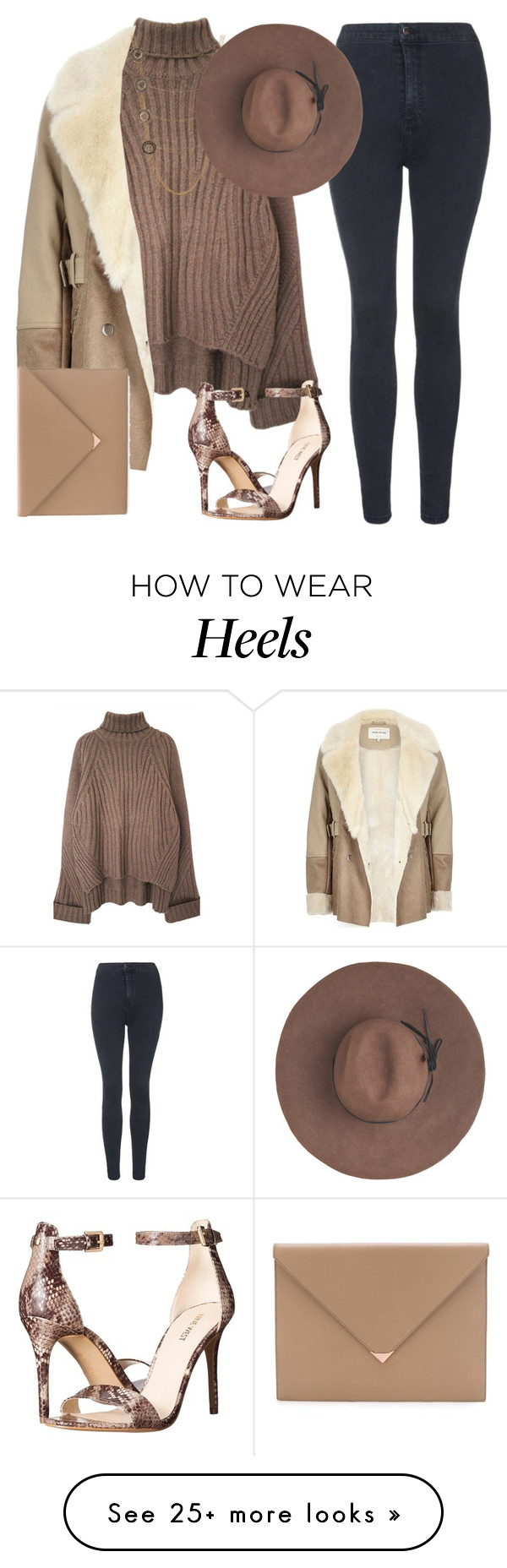 """""""Untitled #1852"""" by lauraafreedom on Polyvore featuring Topshop, River Island, Alexander Wang, Alexander McQueen, Nine West, Eugenia Kim, women's clothing, women, female and woman"""