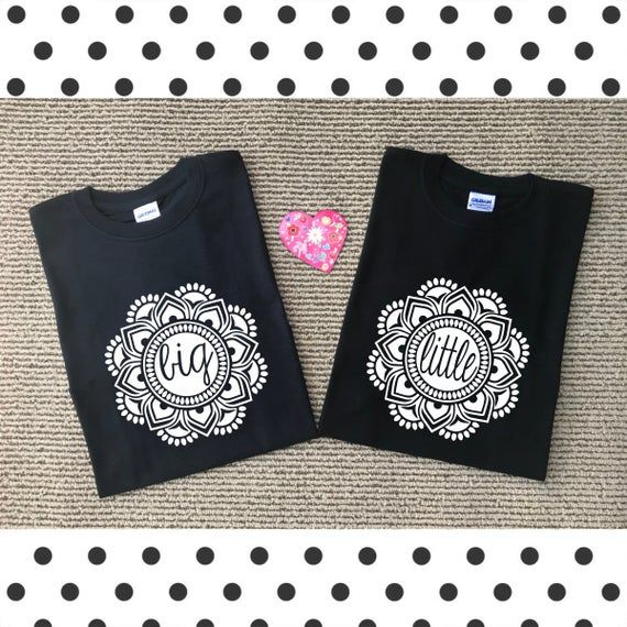 Big Little shirts || Big Little Reveal || Mandala || Sorority Sisters || Greek Life || Sorority Fami #biglittlereveal