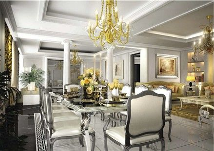 Damac Ties Up With Versace On Lebanon Tower Mediterranean Living Rooms Versace Home Luxury Interior