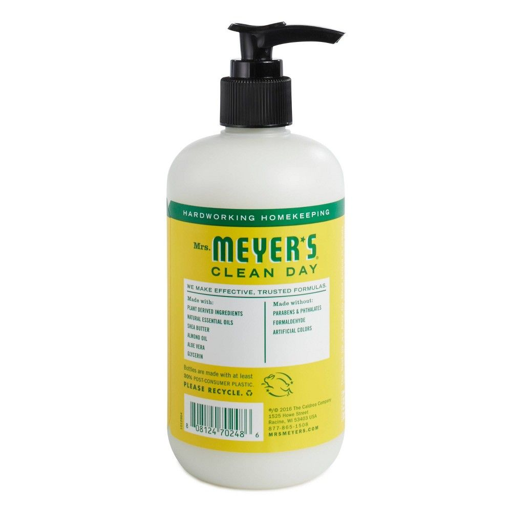 Mrs Meyer S Honeysuckle Hand Lotion 12oz Hand Lotion Liquid