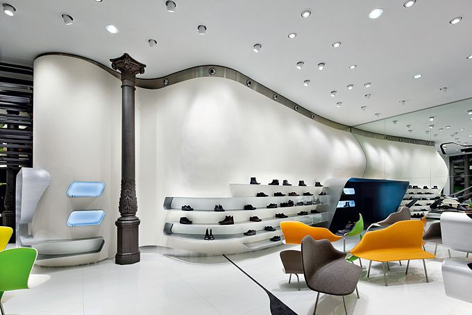 Retail Design | Store Interiors | Shop Design | Visual Merchandising | Retail Store Interior Design | Carlo Pazolini Flagship Store