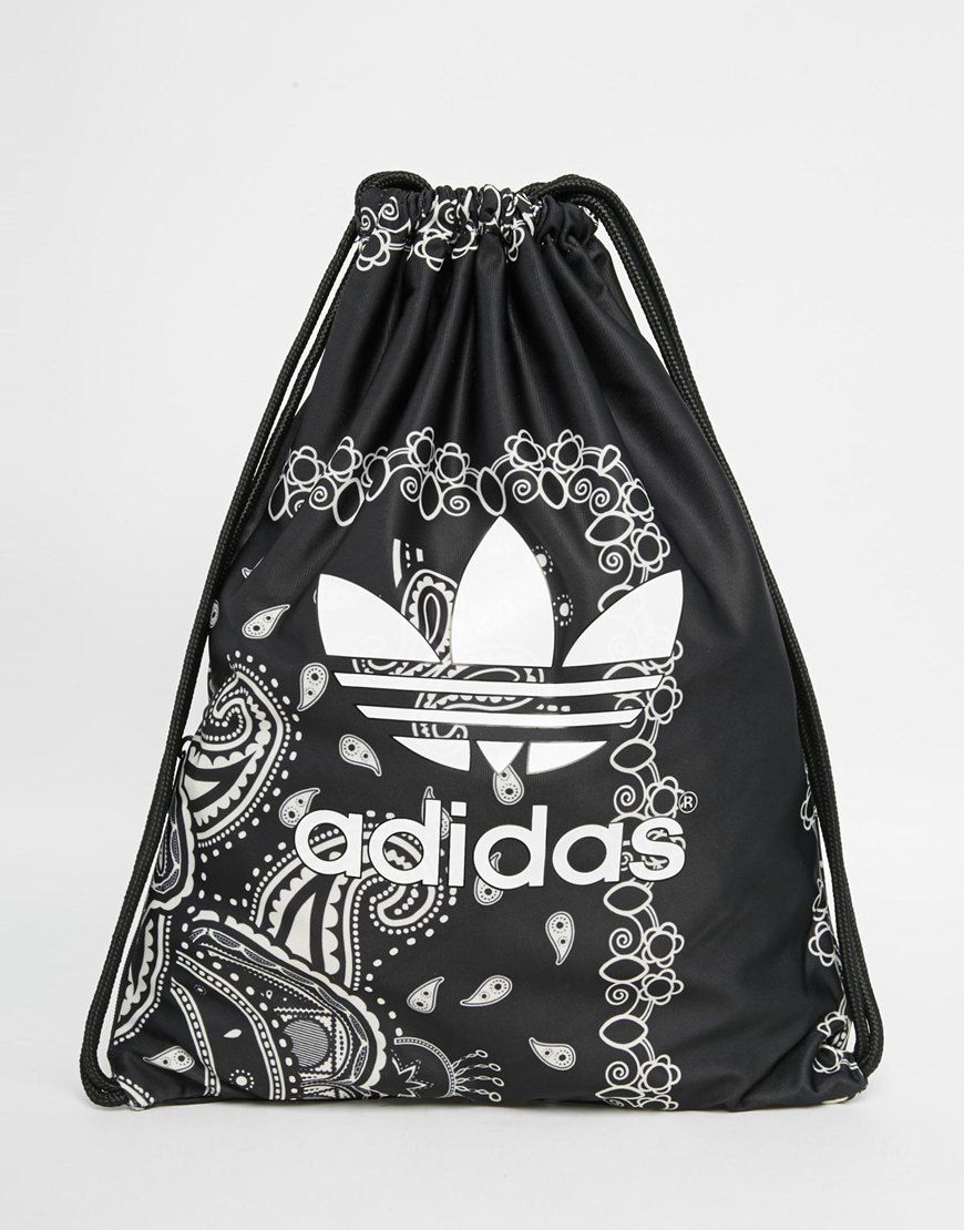 1dc50a8afb adidas Originals Paisley Print Drawstring Backpack - one of the three adidas  bags on this board