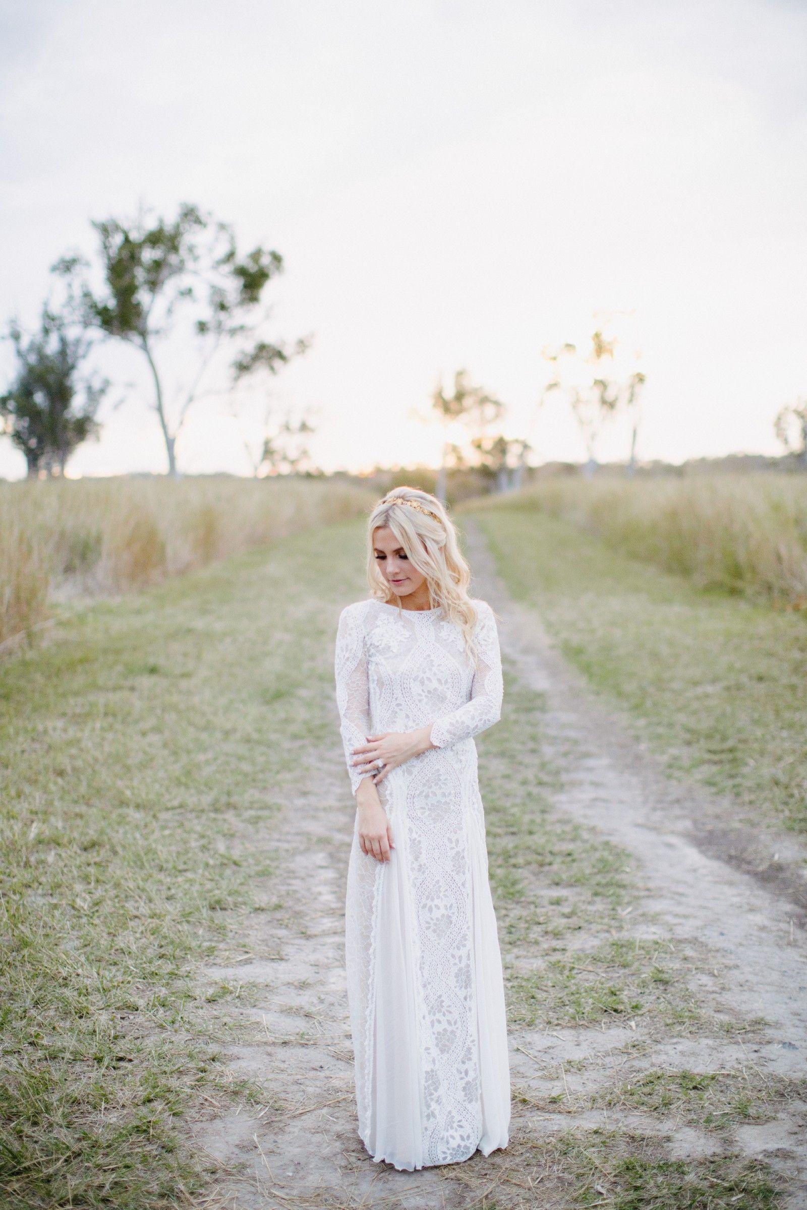 Grace Loves Lace, Inca, Size 6 Wedding Dress