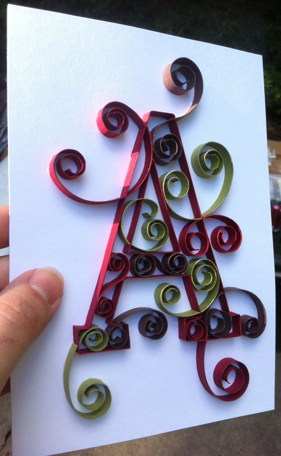 Pin On Quilled Letters