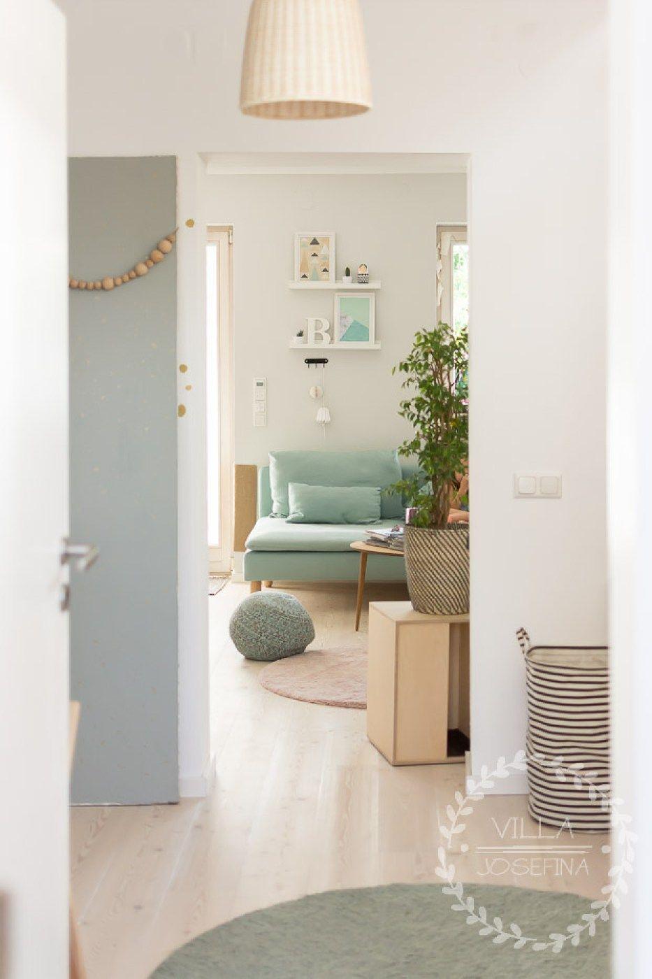 Durchblick Durch Unser Umgebautes Erdgeschoss. Renovierung Reihenhaus    Wohnzimmer Einrichten   Lärchenholz   Offenes Erdgeschoss