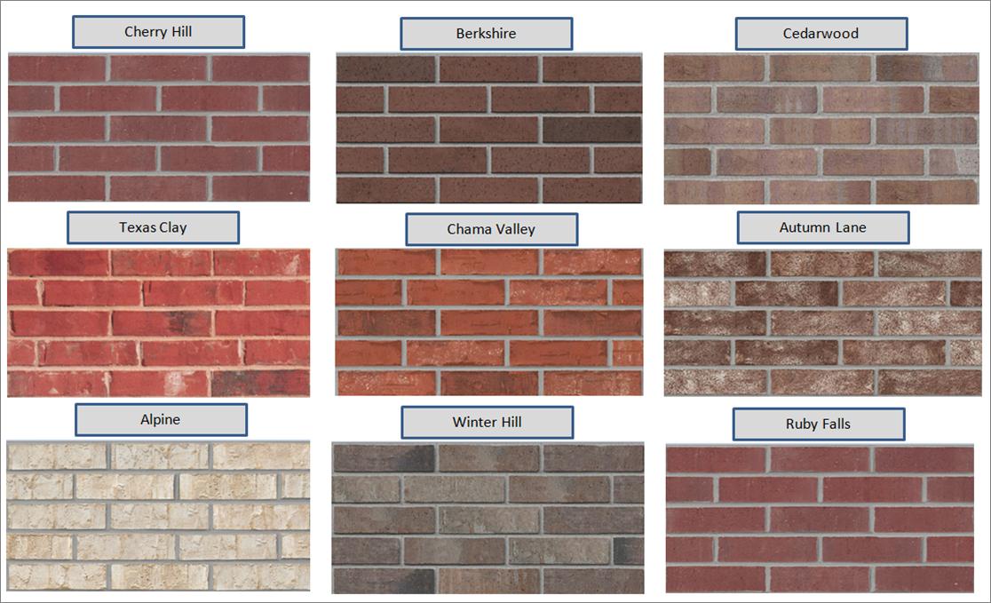 High Quality Brick Colors 8 Exterior Brick Color Options Inside Exterior Exterior Paint Colors For House House Paint Color Combination Red Brick House Exterior