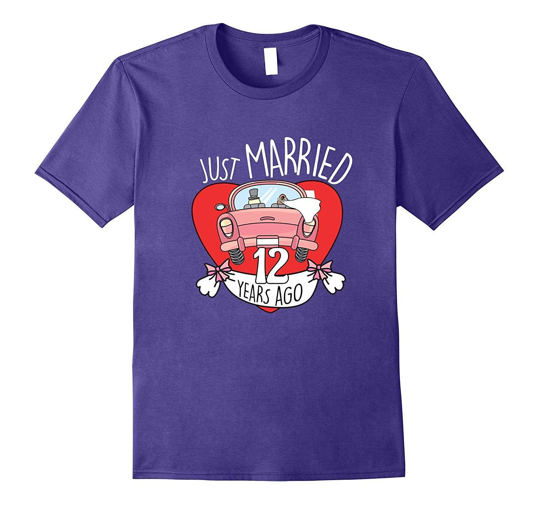 12 Years Of Love Tshirt Funny 12th Wedding Anniversary Gift 10th