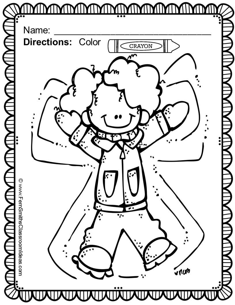Fern\'s Freebie Friday ~ FREE Color For Fun New Years and Winter ...