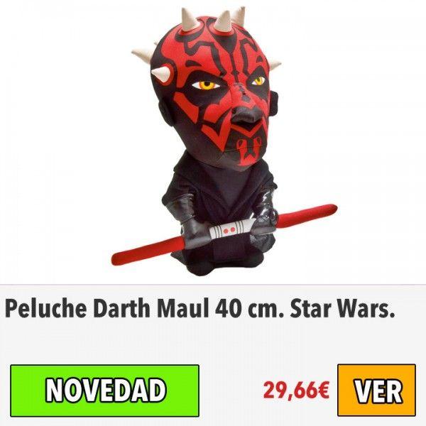 Peluche Darth Maul, Star Wars. #ofertas #descuentos