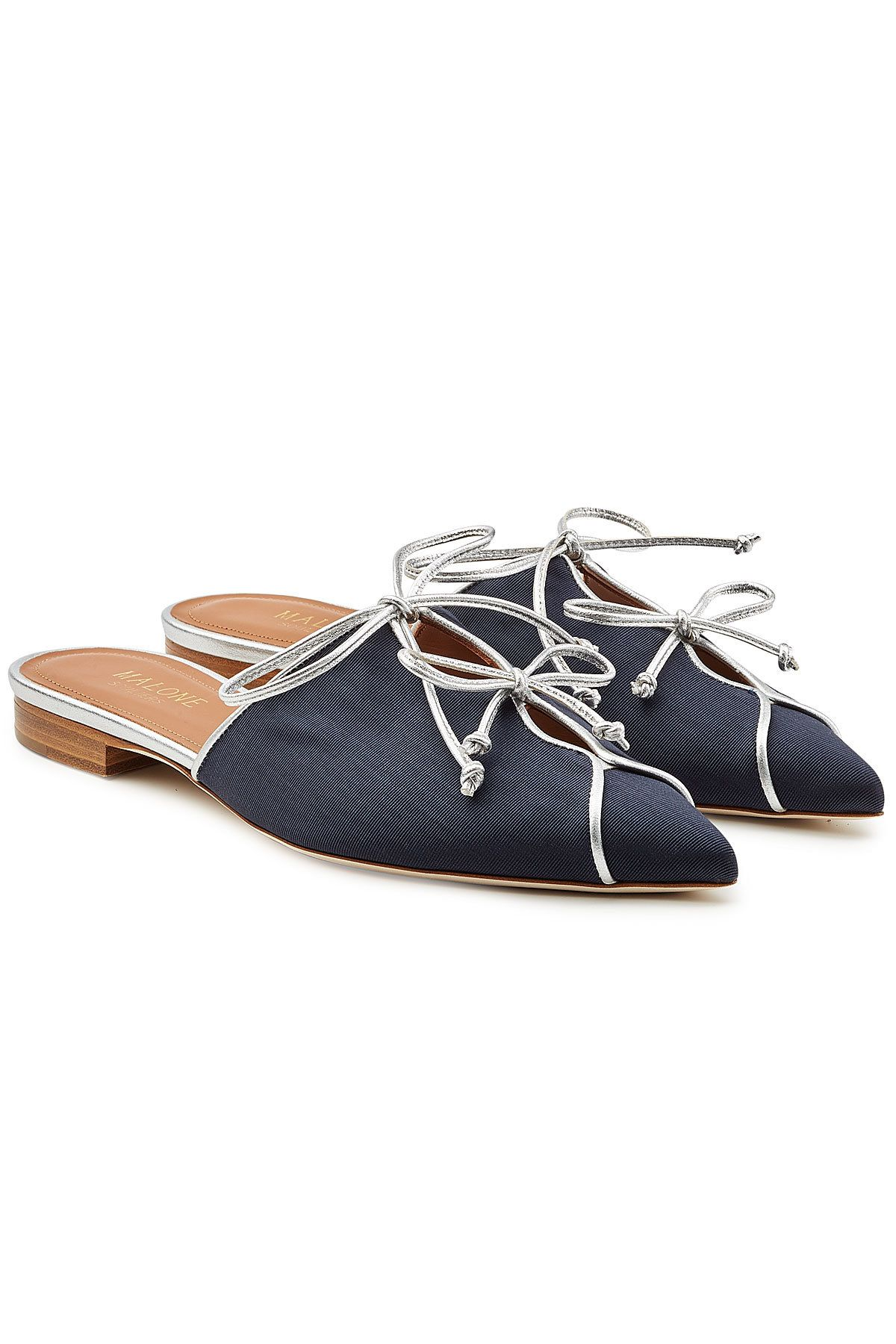 MALONE SOULIERS Vilvin Mules with Leather Big Discount For Sale aqPv6EIaBU