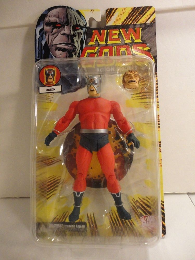 """DC Direct New Gods Orion series 1 Jack Kirby 6"""" action figure w/ extra head moc #DCDirect"""