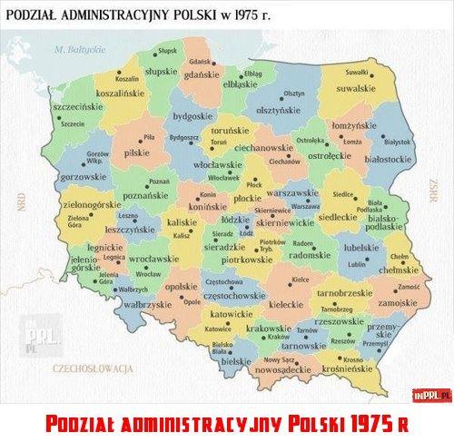 Mapa Polski 130 X 100 Cm Podzial Administracyjny Kolor