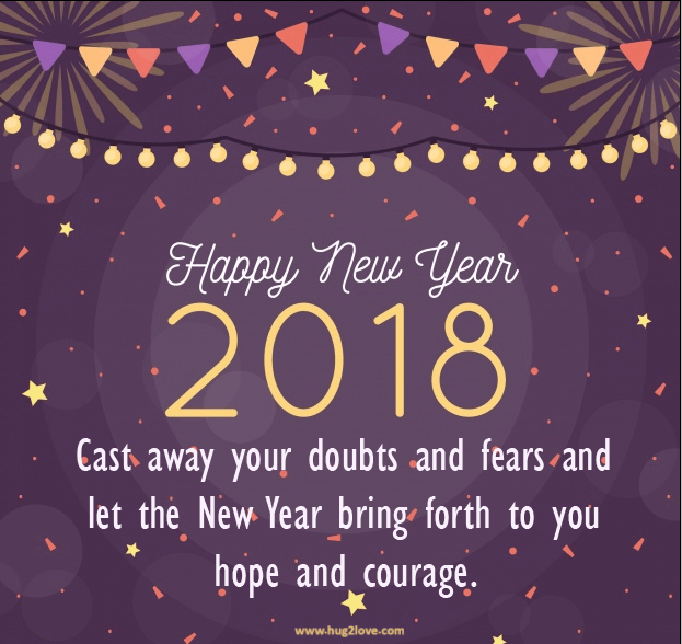 Best New Year 2018 Messages Short Quotes about new year