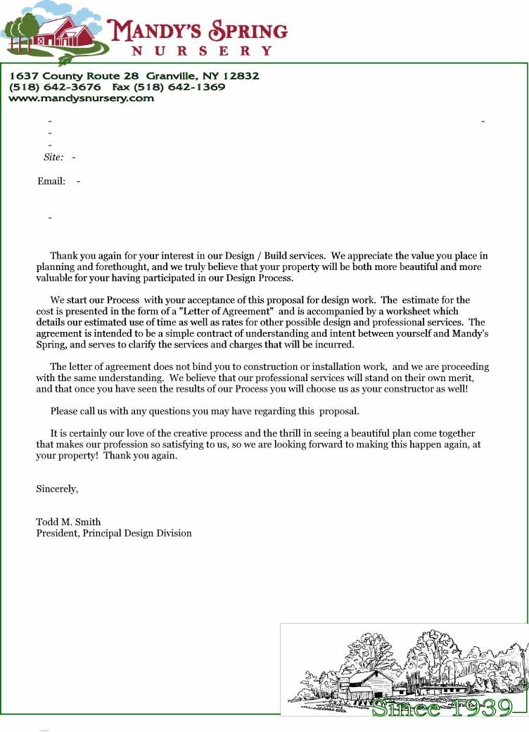 Letter-Of-Agreement-Design - Agreement Letter Template | Legal