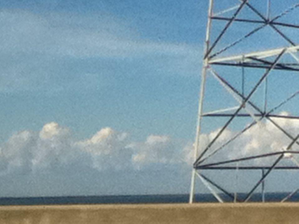 Pretty picture from the bridge
