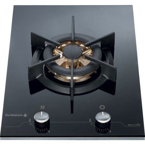De Dietrich DTG1118X 38cm Wide Rotary Control 6kW Wok Gas Hob With ...