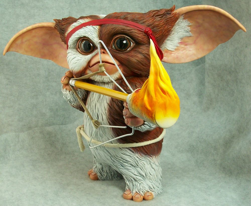 8inches gremlin gizmo as rambo narin 11 scale resin