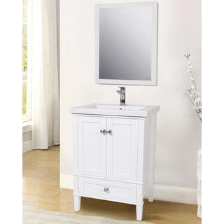 Elegant Lighting Single Bathroom Vanity Set | Overstock.com Shopping   The Best  Deals On