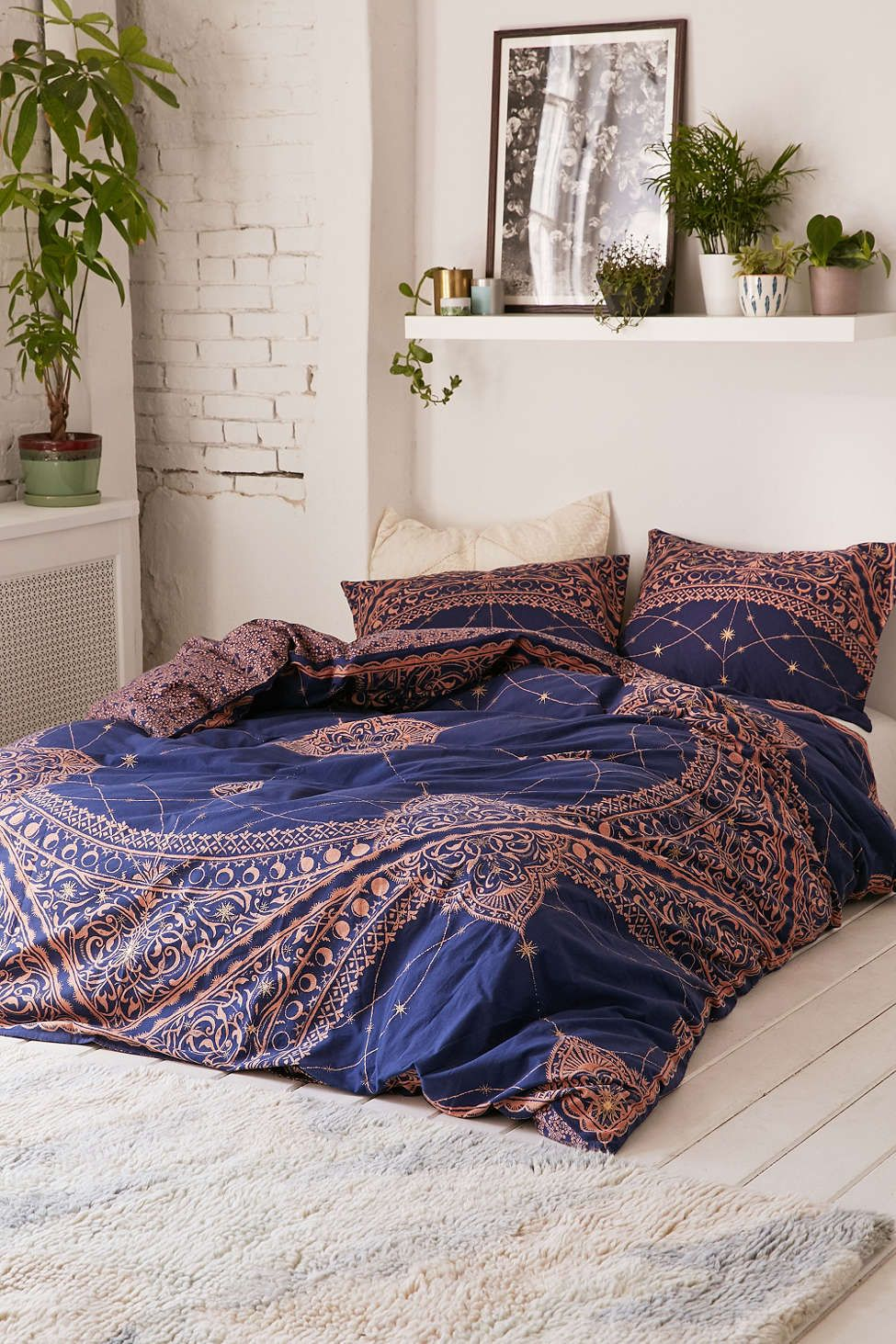 Celestial Foiled Duvet Cover Urban Outfitters Bedroom Styles