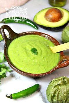 Photo of Avocado Green Salsa │Salsa Verde con Aguacate