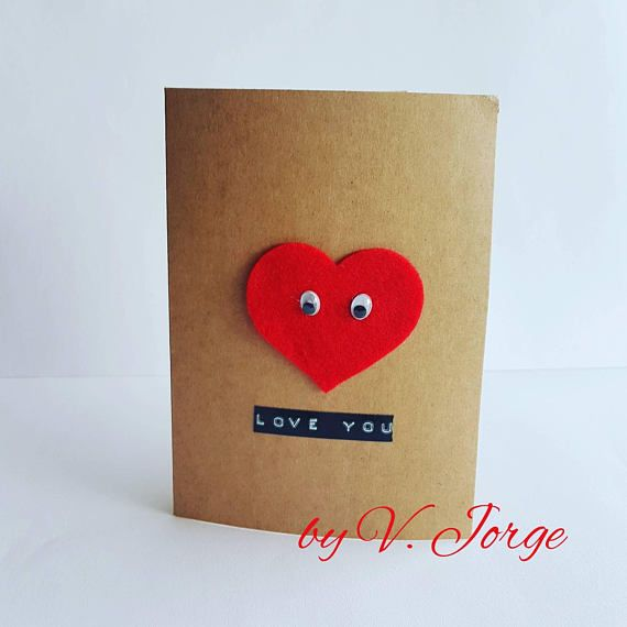 love card valentines day card romantic card anniversary