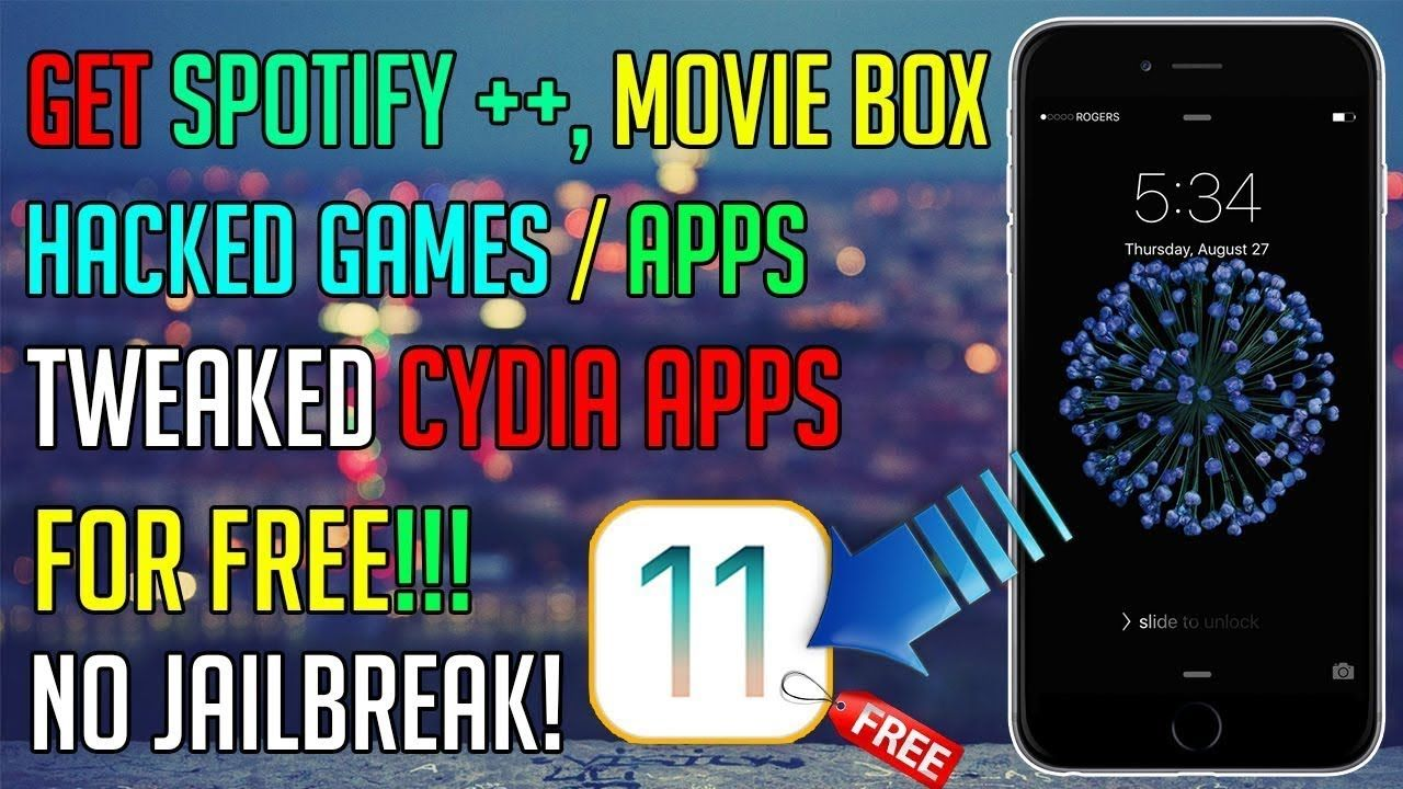 NEW Get Spotify ++, MovieBox, & HACKED Apps/Games for FREE