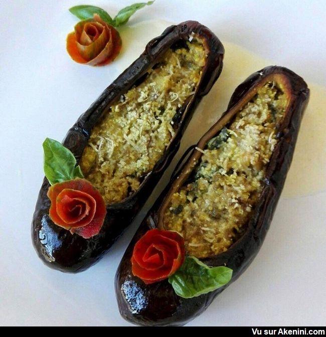 Akenini Com Art Culinaire Nourriture Creative Food Art Recettes De Cuisine Nourriture Drole Nourriture