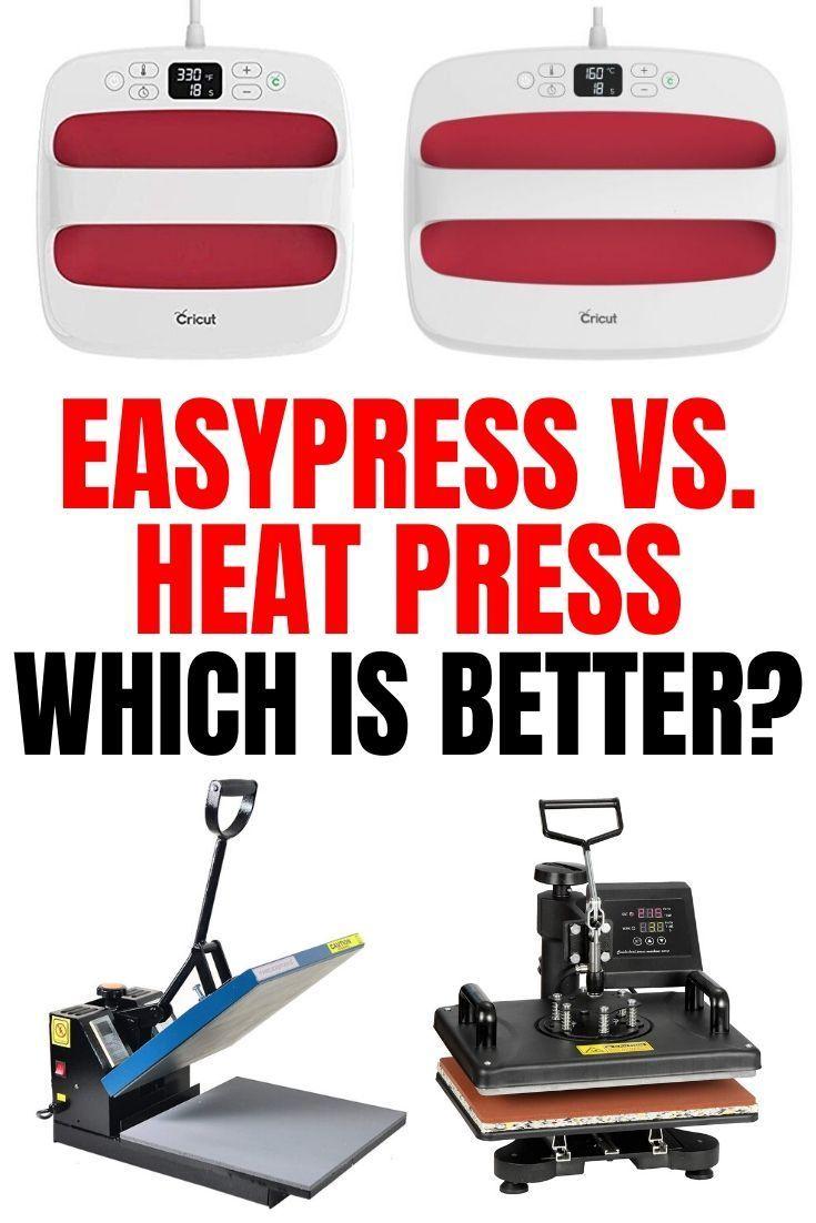 Cricut EasyPress vs. Heat Press - Which Is Better in 2020 ...