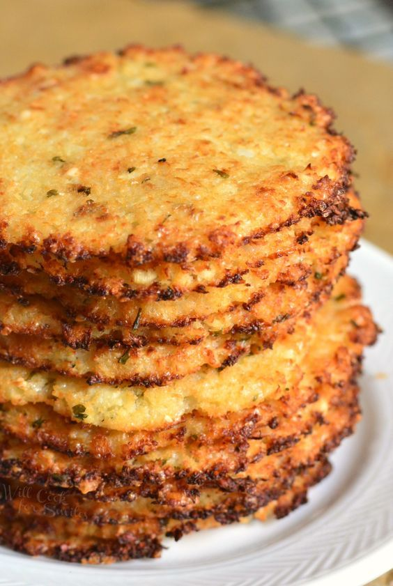 Photo of Cauliflower Parmesan Crisps