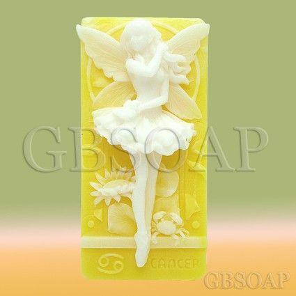 Zodiac Cancer Fairy handmade soap by egbhouse on Etsy, $7.50