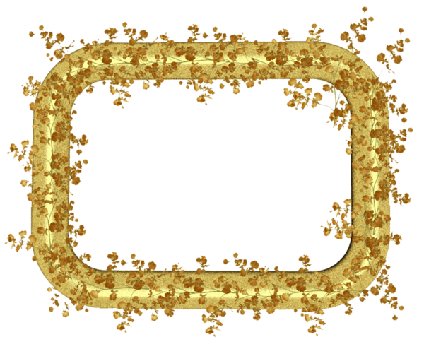 Gold Transparent Png Frame With Gold Leaves Printable Frames Framed Wedding Photos Frame