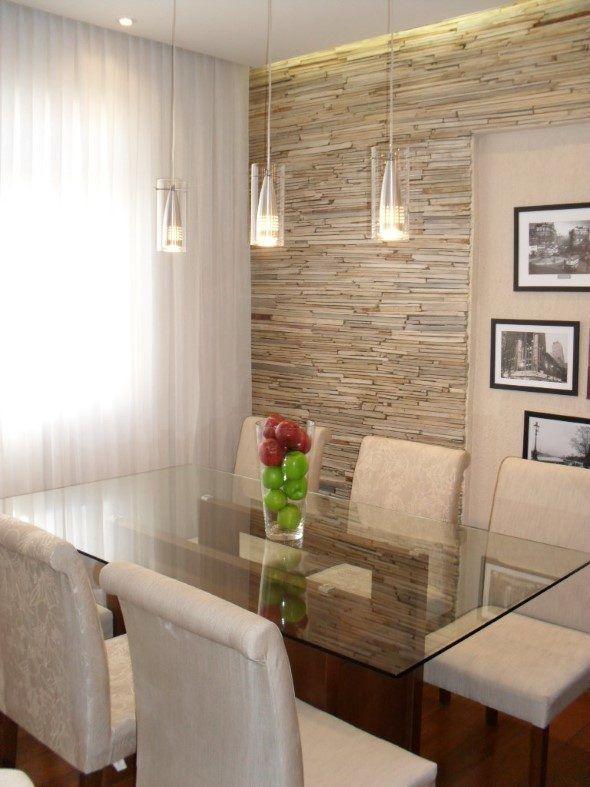 Papel de parede pedras sala pesquisa google papel de for Paredes decoradas para salas