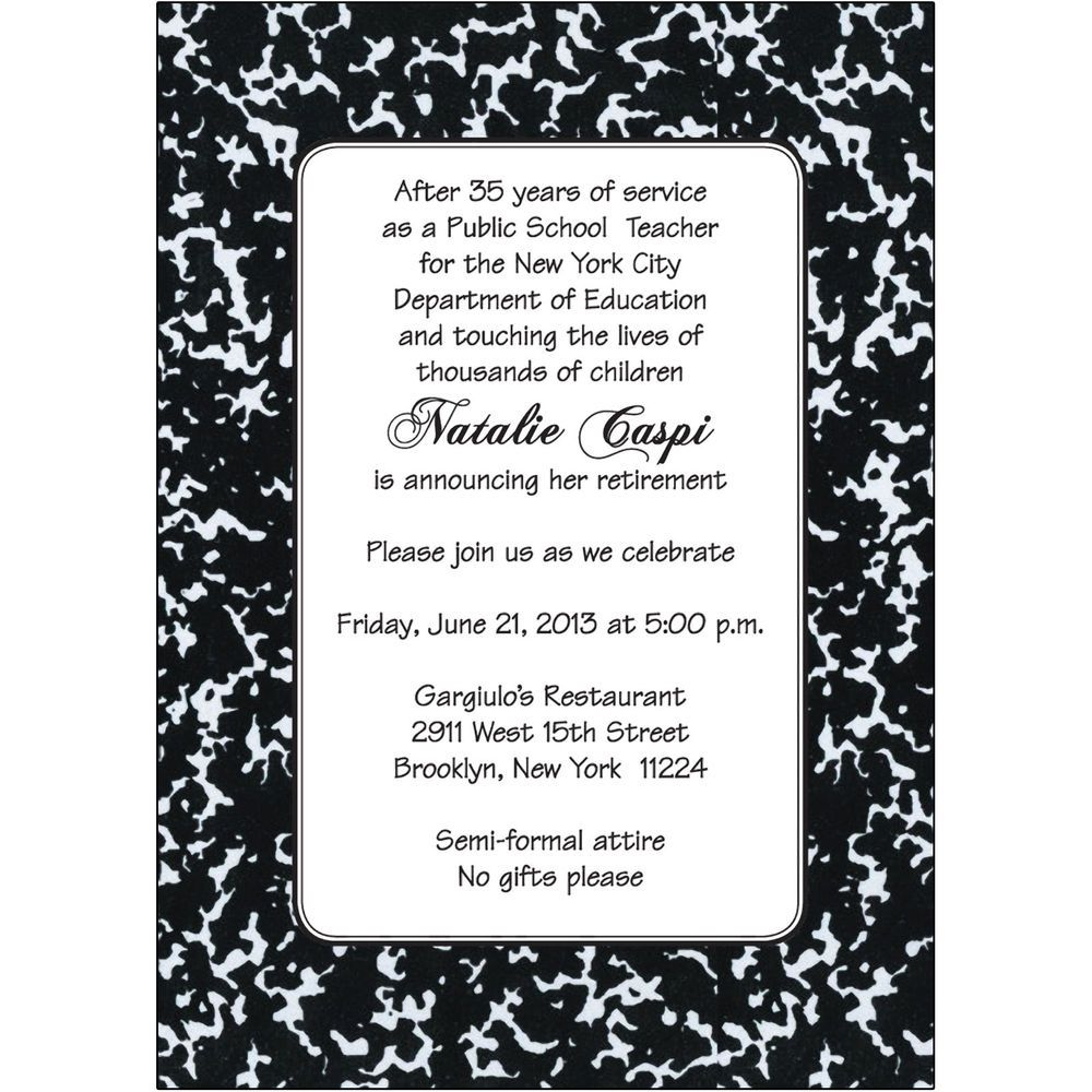 cool Tips for Choosing Retirement Party Invitation Wording Designs ...