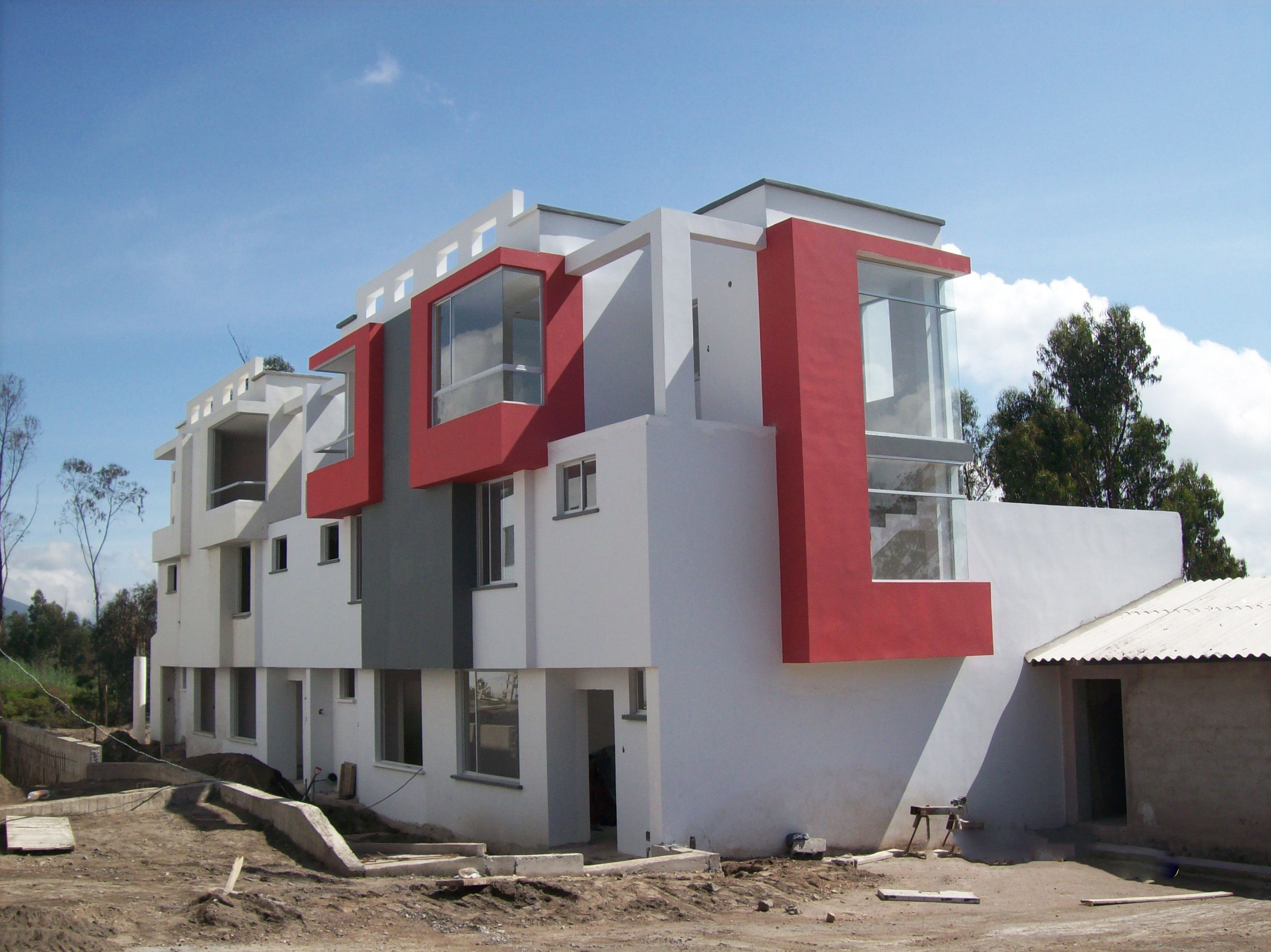 Pintar fachadas de casas pintura de exterior fachada de - Pintar fachada casa ...