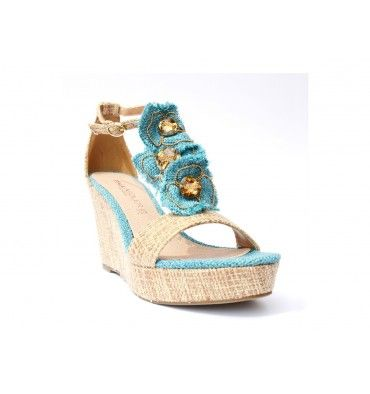 fc9cdb9c Zapatos de plataforma PAULA SOLER mujer - za123022_light_blue Zapatos de  plataforma PAULA SOLER mujerbeige - azul -