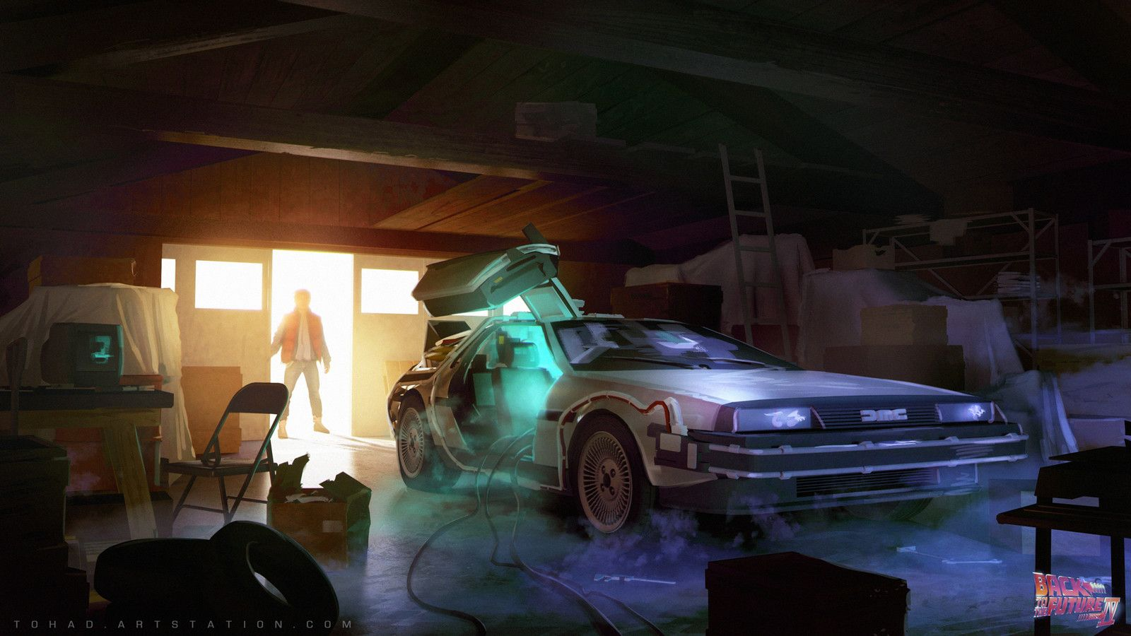 Back To Future 4 Garage Concept Sylvain Sarrailh On Artstation At