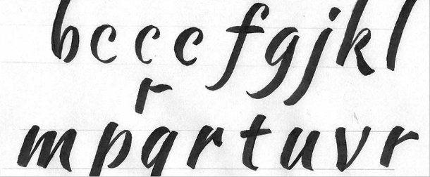 Tipos de letras para carteles   Fuentes   Fonts   Pinterest   Fonts