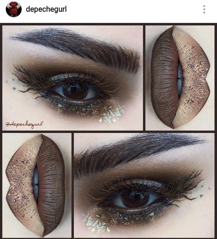 Pin de montse altamirano en Unusual makeup Maquillaje de