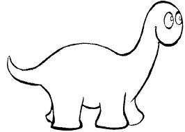 Dessin Dinosaure Couleur