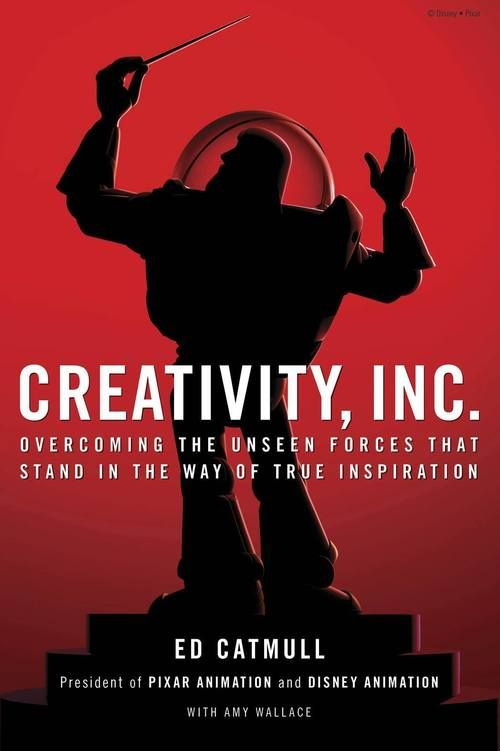 """Creativity, Inc.: Overcoming the Unseen Forces That Stand in the Way of True Inspiration #entrepreneur #book http://www.developgoodhabits.com/creativity-inc  Ed Catmull, co-founder of Pixar Animation, comes an incisive book about #creativity in #business - """"One of the BEST books of the year""""- according to the NYT bestseller list. http://www.developgoodhabits.com/creativity-inc"""