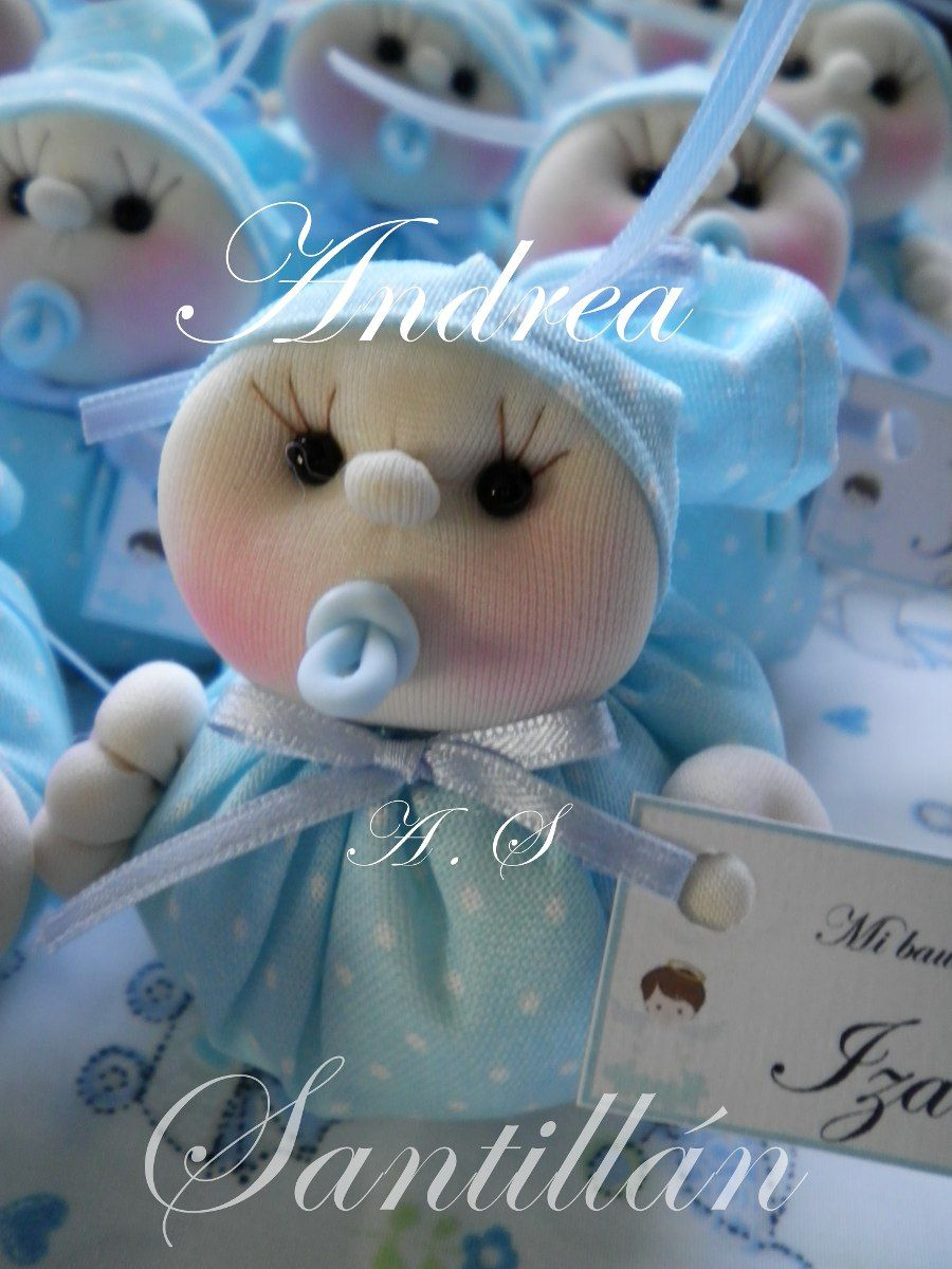 Bebés En Tela Souvenirs Nacimientos Bautismos Baby Shower -   210 3dab1000242