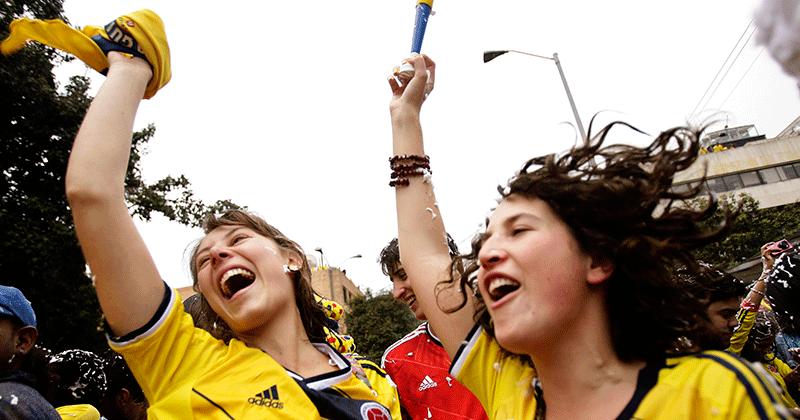 Colombia vs. Perú | Gol de Colombia http://bit.ly/1Lp8t3Z