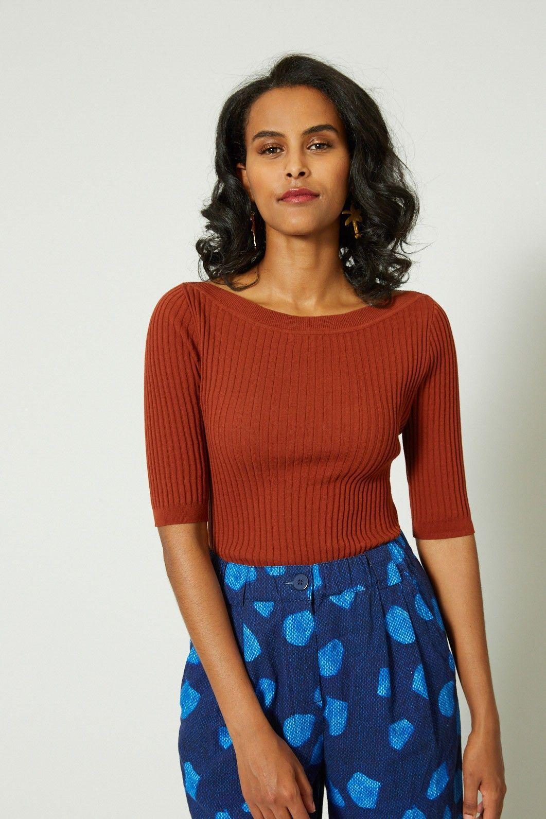 gorman aw 19 | rib top + soft spot pant | Organic clothing ...