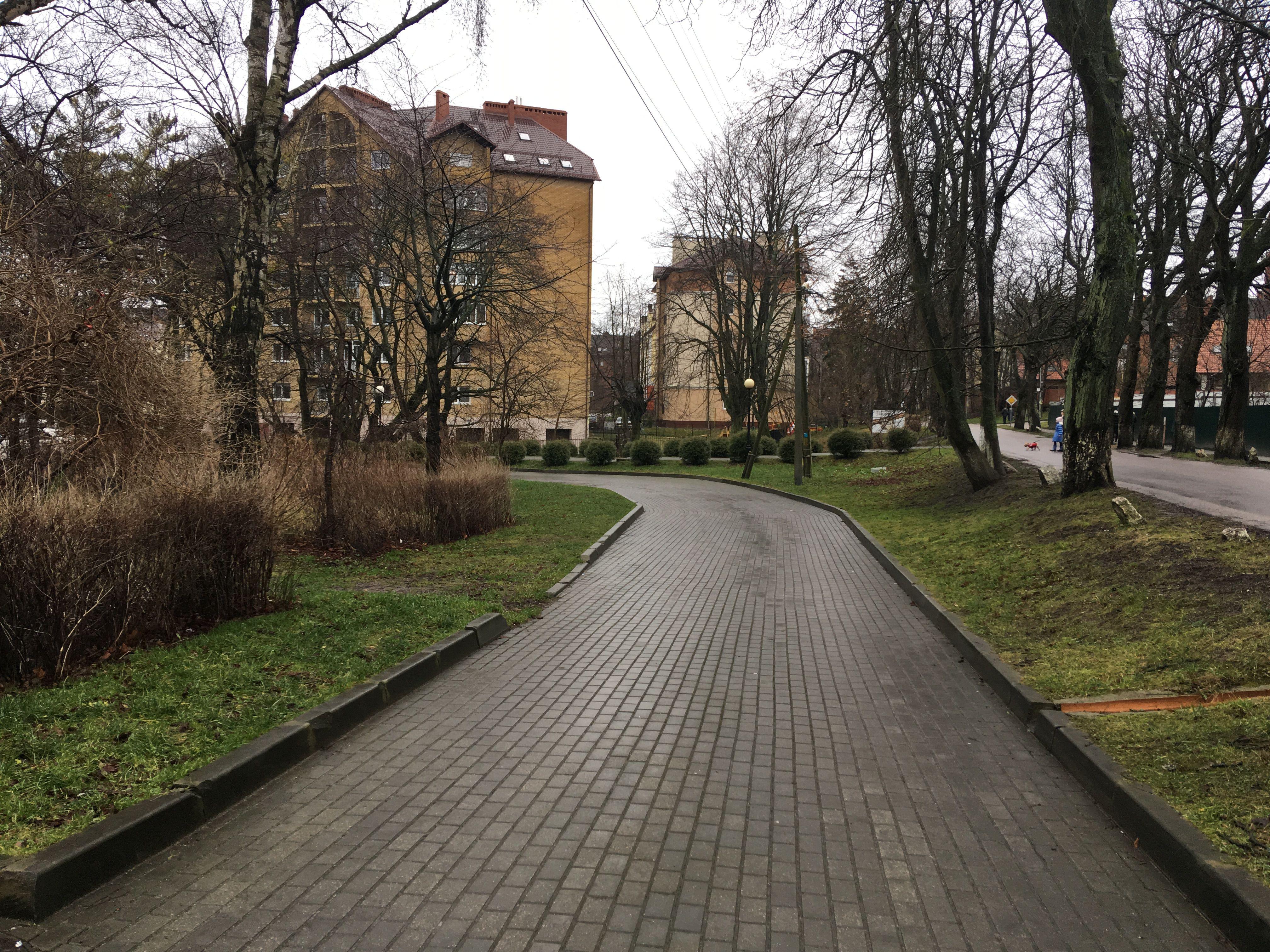 Новые дома в городе Пионерский