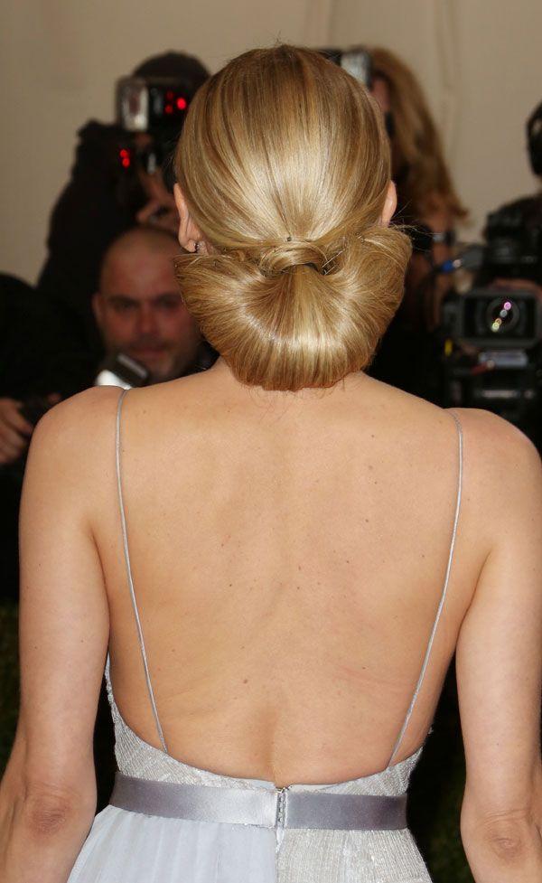 Diane Kruger fan ponytail